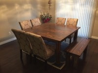 Ana White | Square Farmhouse Table - DIY Projects