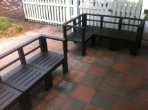 Ana White Simple Outdoor Sectional - Diy Projects