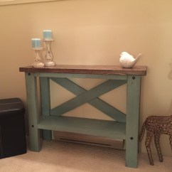 Ana White Sofa Table Can You Replace Legs Mini Console Diy Projects