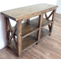Ana White | Rustic Entryway Table - DIY Projects