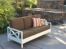 Ana White Outdoor Sofa Mash- - Diy Projects