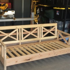 Build Outdoor Sectional Sofa Prado Corner Furniture Village Ana White Mash Up Diy Projects