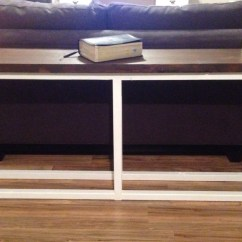 Ana White Sofa Table Full Bed Replacement Mattress Diy Projects
