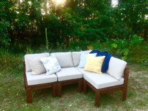 Ana White Outdoor Sectional - Diy Projects