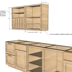 How To Make Kitchen Cabinets Newport Brass Faucet Cabinet Construction Plans Mouzz Home
