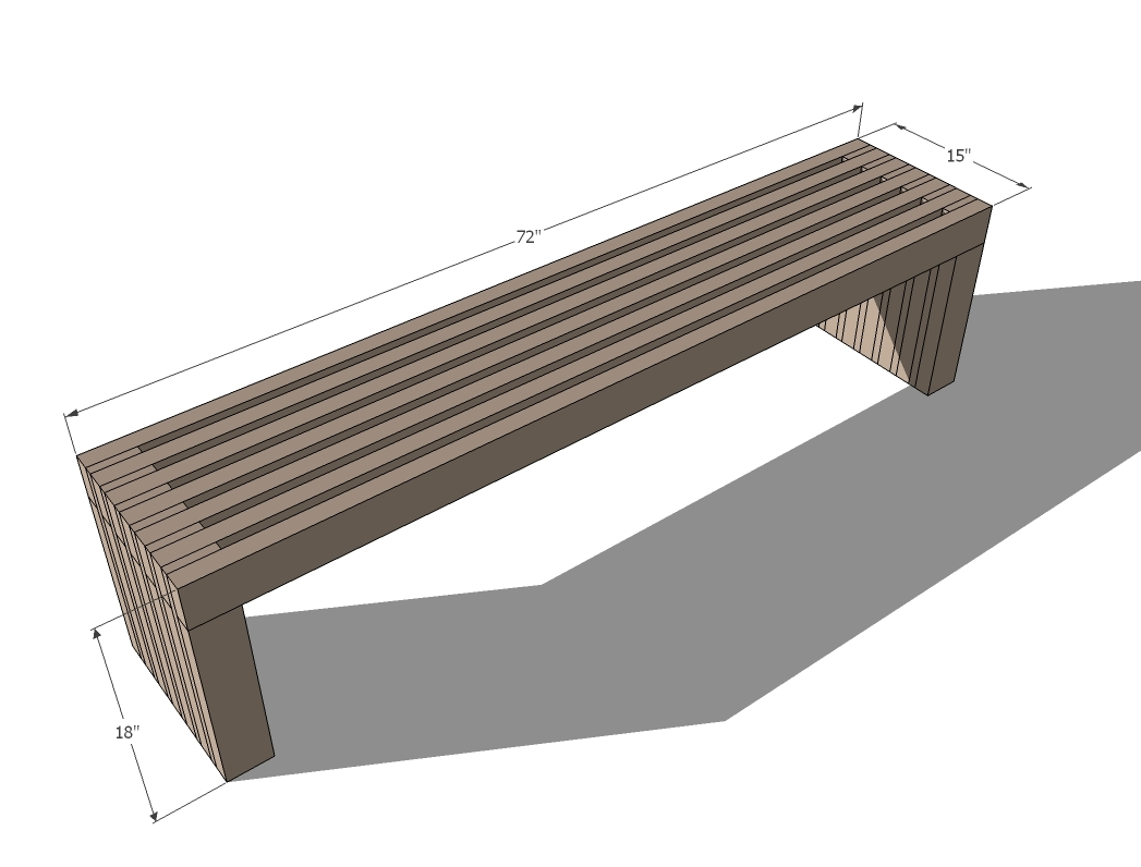 modern wood chair plans butterfly stand ana white slat top outdoor bench diy projects