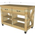 Kitchen island double free and easy diy project and furniture