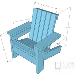 18 Inch Doll Chair Diy Bedroom Accent Chairs Ana White | Fiona's Adirondack - Projects