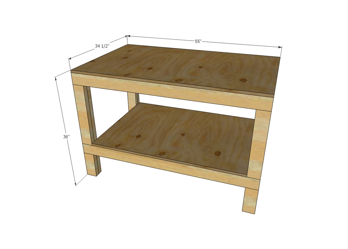 free plans to build an end table