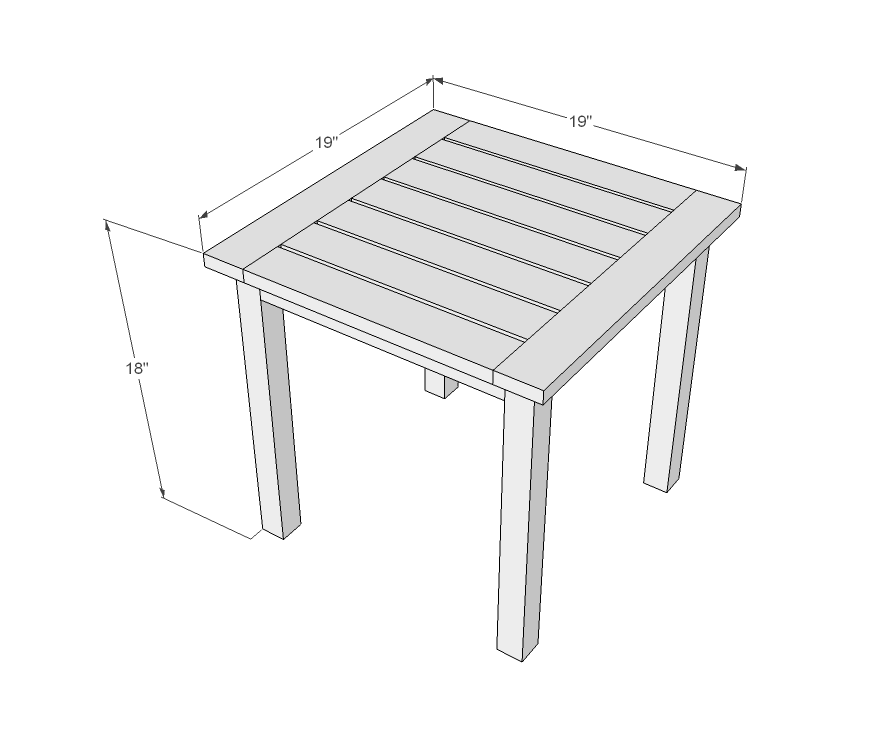Coffee Table 60 Inches