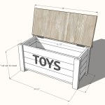 Farmhouse Toy Box Ana White