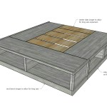 Classic Storage Bed King Ana White