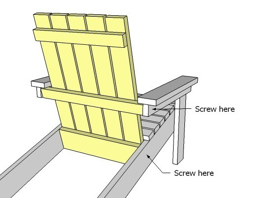 adirondack chair plan stacking covers wedding ana white how to build a super easy little diy step 9 instructions
