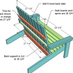Adirondack Chair Blueprints Wheelchair Quotes Ana White How To Build A Super Easy Little Diy Projects