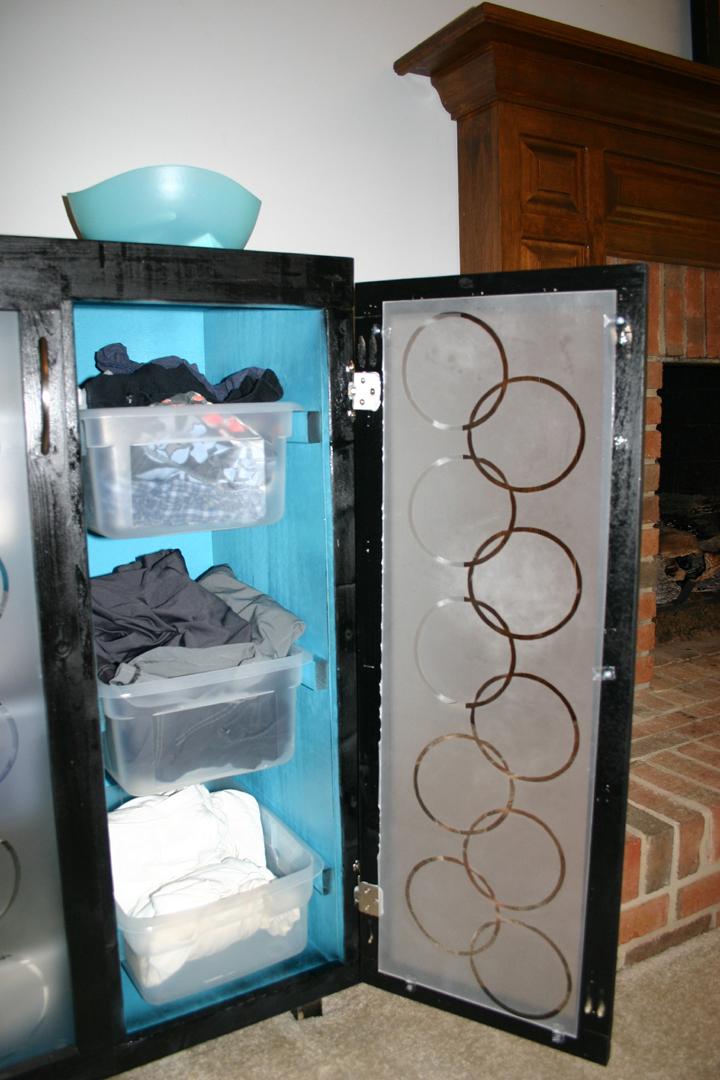 Ana White  Fancy Laundry Basket Dresser  DIY Projects