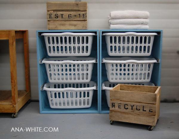 laundry basket dresser ana white