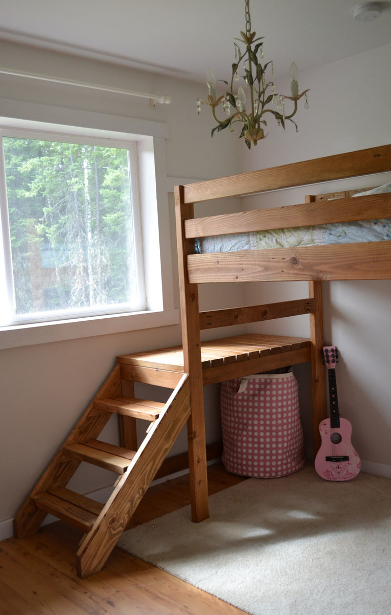Teen Bedroom Diagram Guide To Get Loft Bed With Dresser Plans Free Magazine