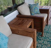Ana White   Modern Outdoor Chair from 2x4s and 2x6s - DIY ...