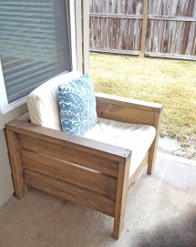 Ana White Modern Outdoor Chair 2x4s And 2x6s - Diy