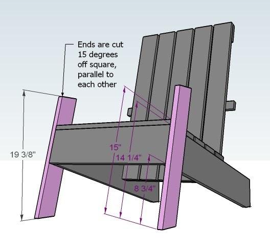 modern style adirondack chairs baby nursery rocking chair ana white modish diy projects