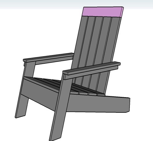 modern style adirondack chairs folding chair in bag ana white modish diy projects step 9 instructions