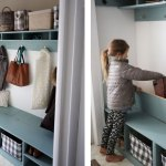 Closet Mudroom Bench With Hinge Up Boot Storage Compartment Ana White