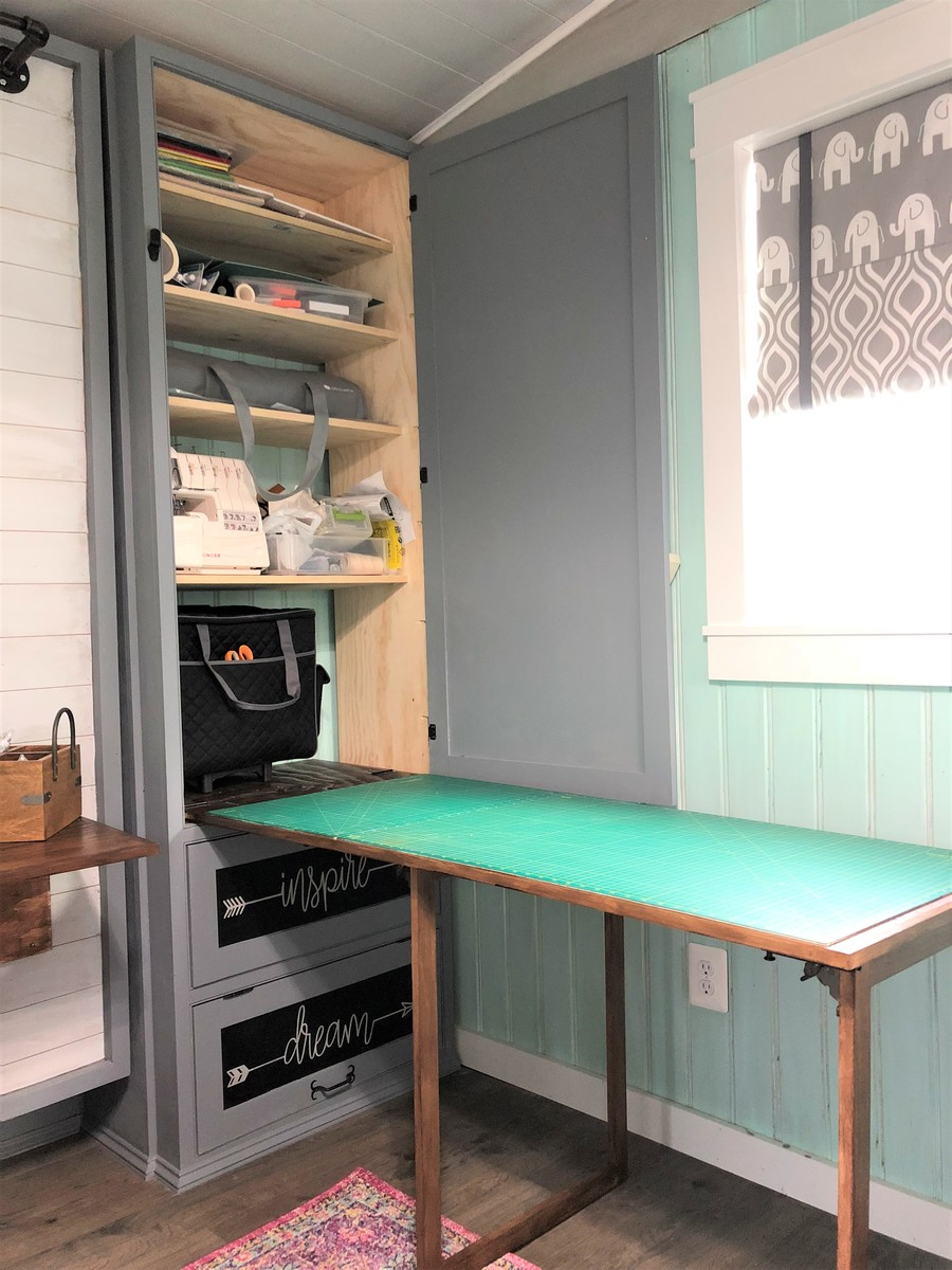 desk chair diy green folding chairs ana white   she shed - guest room, craft office projects