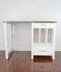 Ana White | File Cubby Base Desk with Drawers - DIY Projects