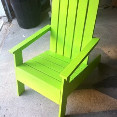 Adirondack Chair Diy Ana White Tall Directors Chairs Modish Projects