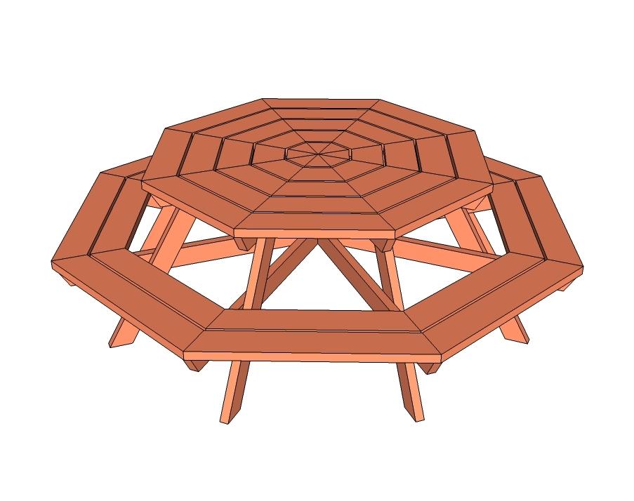 Diy 2×6 Picnic Table