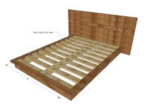 Ana White Rustic Modern 2x6 Platform Bed - Diy Projects
