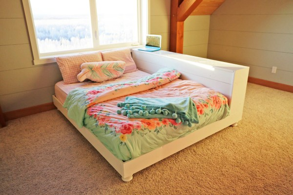 Teen Platform Bed with Storage