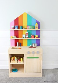 Ana White | DIY Play Kitchen with Back Wall - DIY Projects