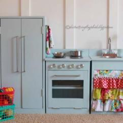 Wooden Play Kitchen Table Sets With Matching Bar Stools Ana White Simple Stove Diy Projects