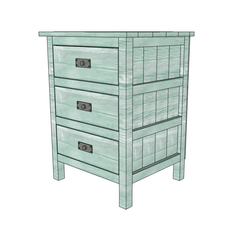 reclaimed wood look bedside table ana