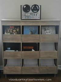 Ana White | Vinyl Record Storage Cabinet - DIY Projects