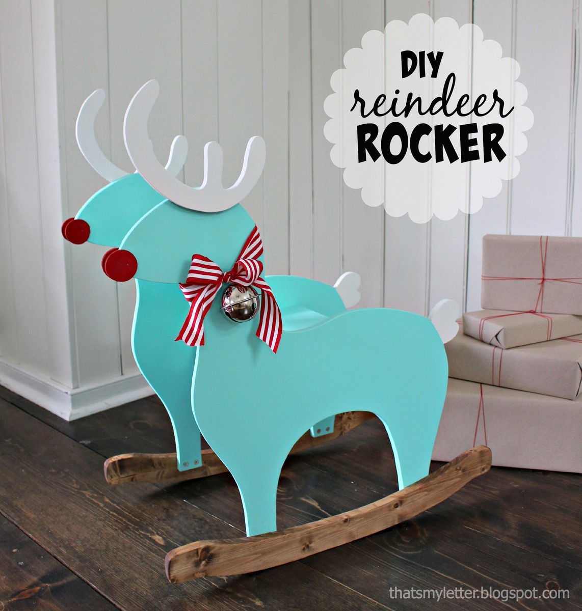 free rocking chair plans reclining bed bath and beyond ana white reindeer diy projects
