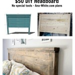 Reclaimed Wood Headboard Queen Size Ana White