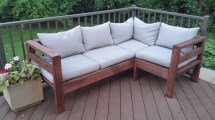 DIY 2X4 Outdoor Sectional Plans