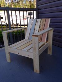 Ana White | Simple Outdoor Chairs for the Firepit - DIY ...