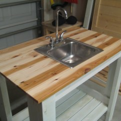 Outdoor Kitchen Sinks With Green Egg Ana White My Simple Sink Diy Projects