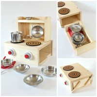 Tabletop Play Kitchen | Knock-Off Wood | Bloglovin