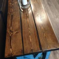 Ana White | Rustic X Sofa Table - DIY Projects