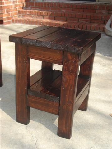 tryde end table with shelf updated