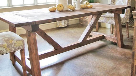 dining table plans ana white