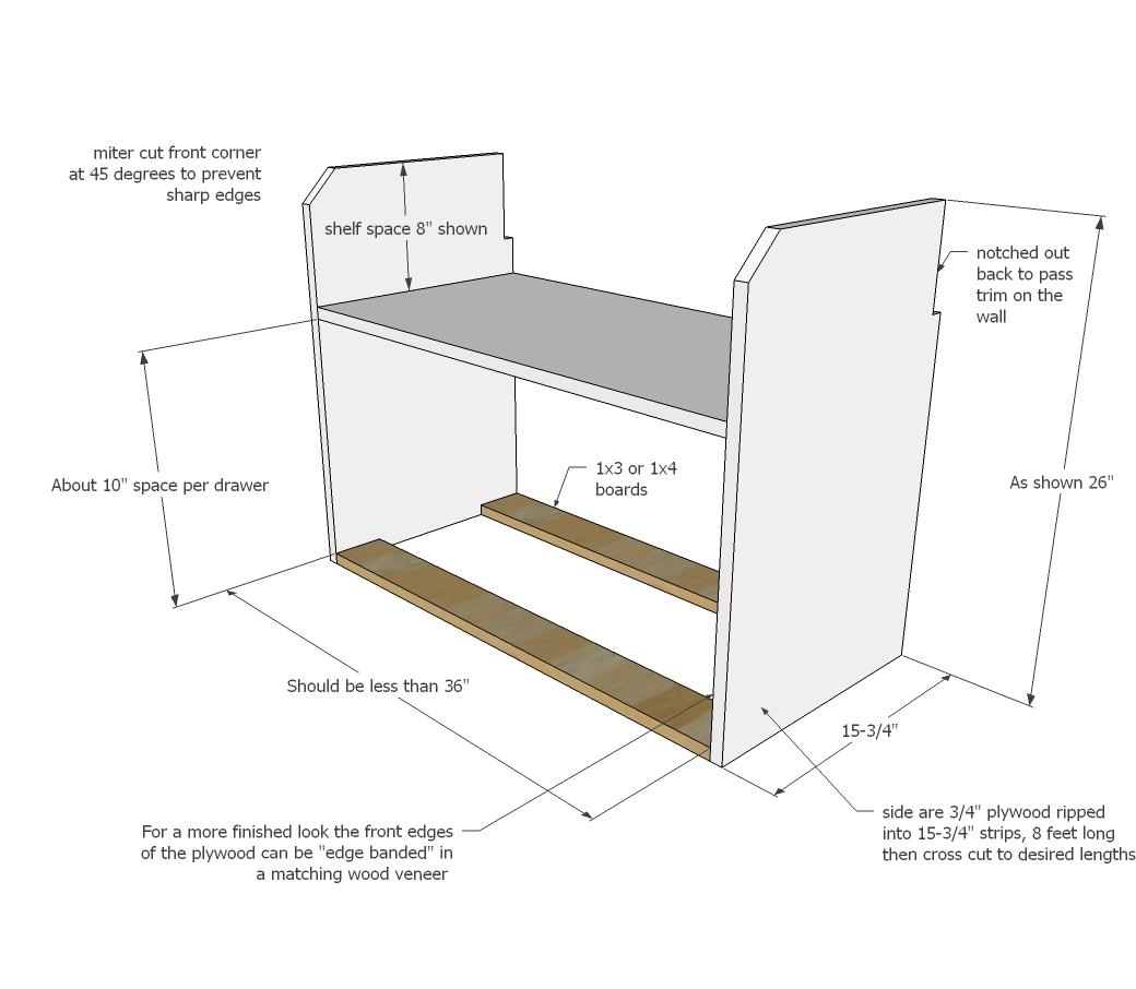 Ana White Loft Closet In Tiny House