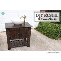 Ana White | DIY Rustic Bathroom Vanity - DIY Projects