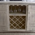 Farmhouse wine buffet do it yourself home projects from ana white
