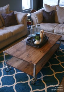 Ana White Easy Industrial Coffee Table - Diy Projects
