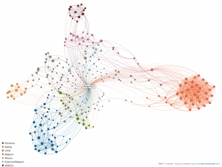 A LinkedIn picture or the beauty and challenges of visualized data for researchers
